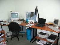This office can also be considered clean.